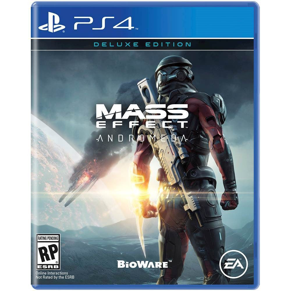 Sony PS4 Game Mass Effect Andromata