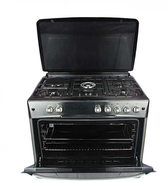 Maxi Cooker 60X90cm 4+2 Black Gray