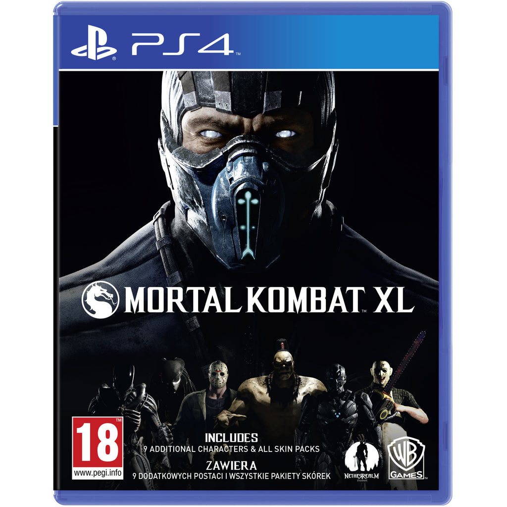 Sony PS4 Game Mortal Kombat XL