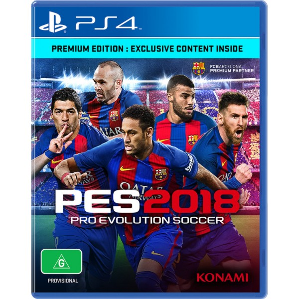 Sony PS4 GAME PES 18