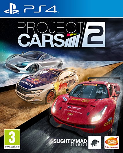 Sony PS4 Game Project Cars 2
