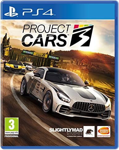 SONY PS4 GAME PROJECT CARS 3