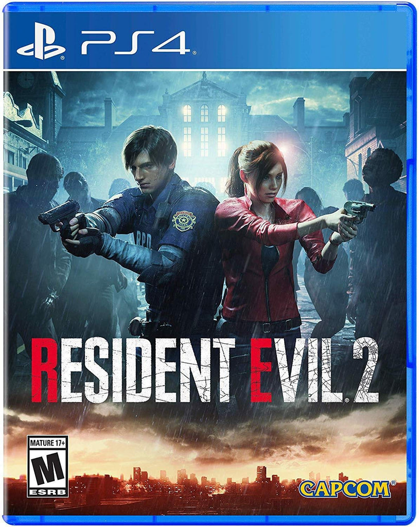 SONY PS4 GAME RESIDENT EVIL 2 REMAKE