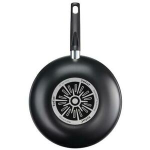 Tefal B3041902 First Cook 28cm Stirfry Non-Stick Wok Pan Thermospot-Black