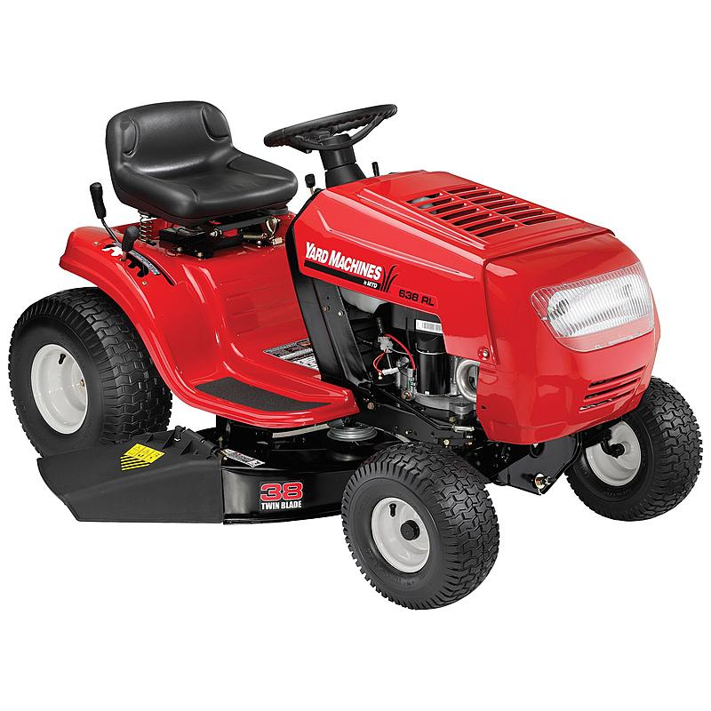 MTD 13.5HP Gas Powered Riding Lawn Tractor