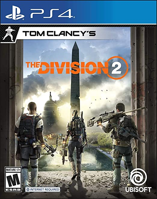 SONY PS4 GAME TOM CLANCYS DIVISION 2