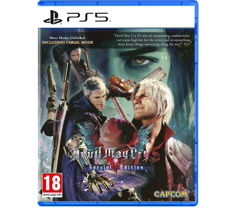 SONY PS5 GAME DEVIL MAY CRY