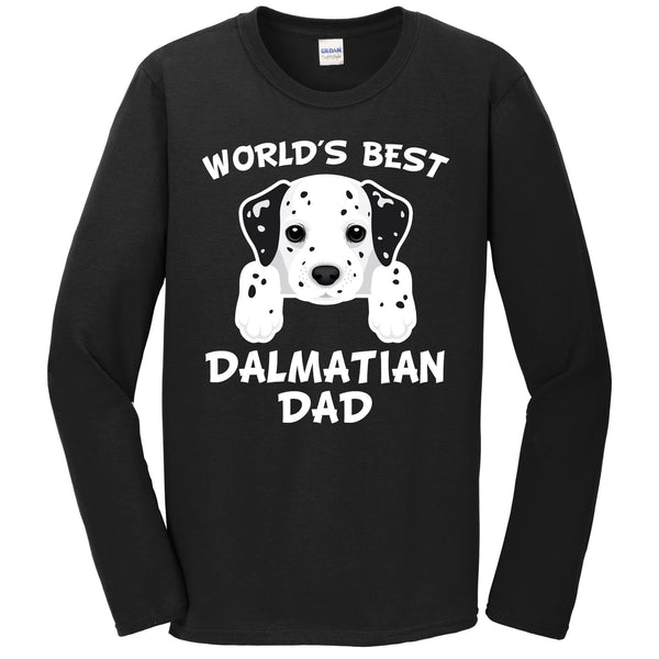 World's Best Dalmatian Dad Dog Owner Long Sleeve T-Shirt