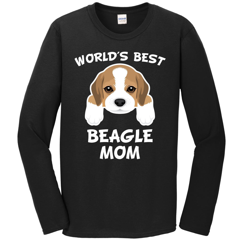 World's Best Beagle Mom Dog Owner Long Sleeve T-Shirt