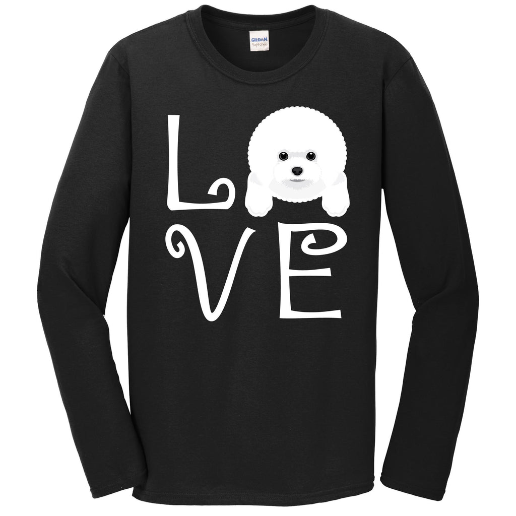 Bichon Frise Love Dog Owner Bichon Frise Puppy Long Sleeve T-Shirt
