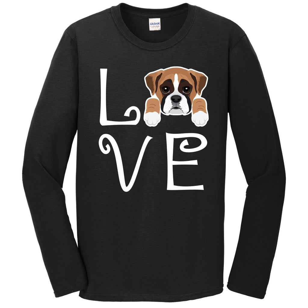 Boxer Love Dog Owner Boxer Puppy Long Sleeve T-Shirt