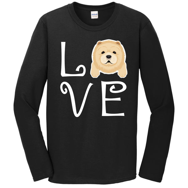 Chow Chow Love Dog Owner Chow Chow Puppy Long Sleeve T-Shirt