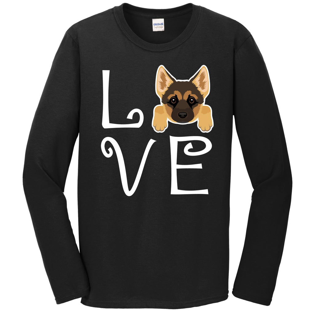 German Shepherd Love Dog Owner German Shepherd Puppy Long Sleeve T-Shirt
