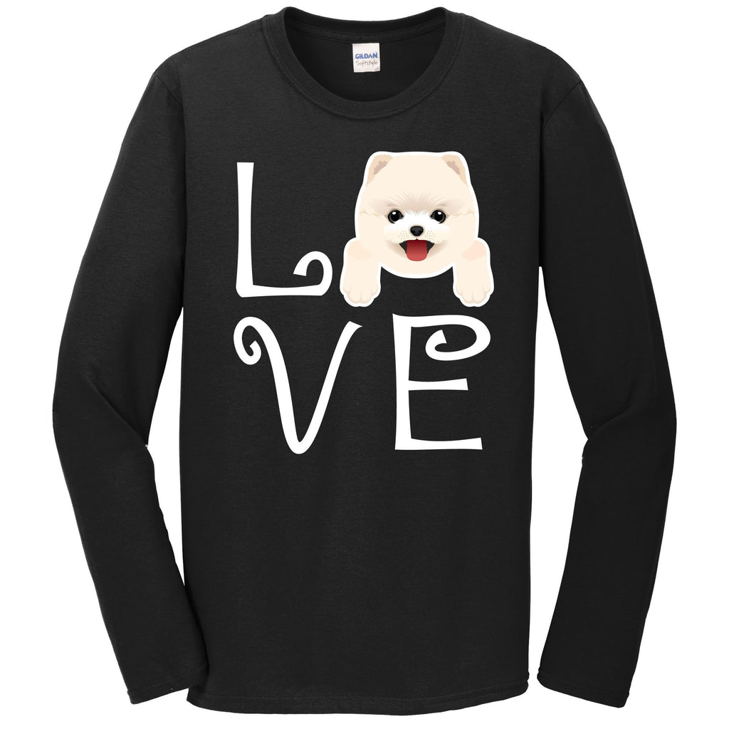 Pomeranian Love Dog Owner Pomeranian Puppy Long Sleeve T-Shirt