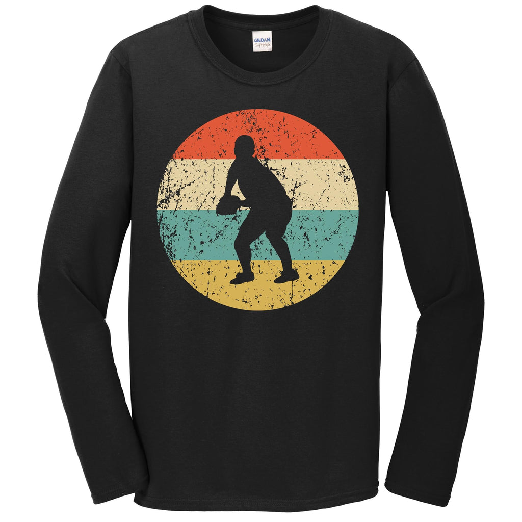 Rugby Shirt - Vintage Retro Rugby Player Long Sleeve T-Shirt