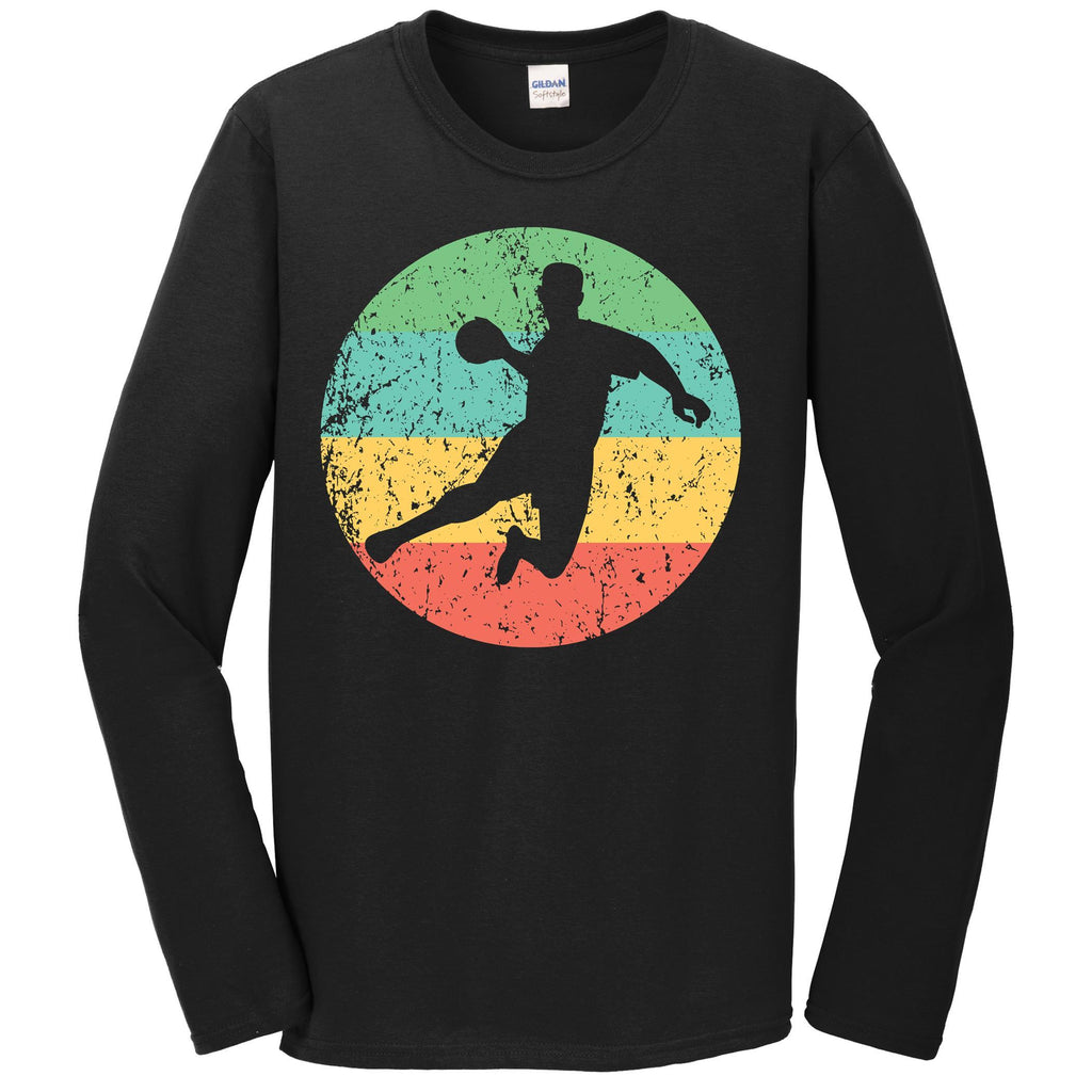 Dodgeball Long Sleeve Shirt - Vintage Retro Dodgeball Player T-Shirt