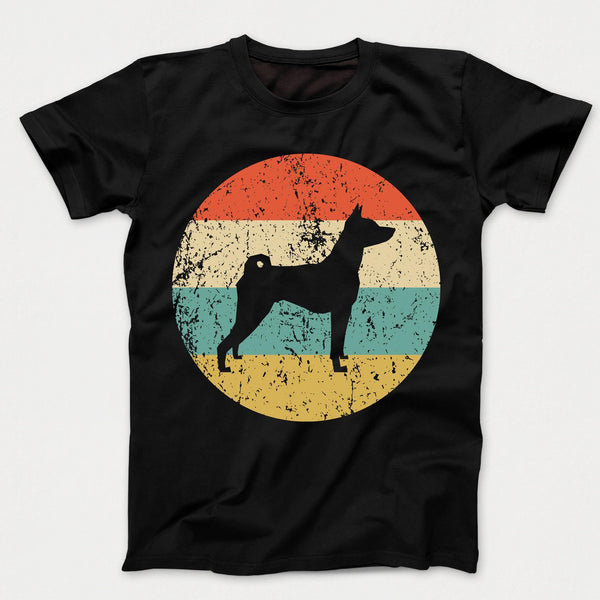 Basenji Shirt - Vintage Retro Basenji Dog Kids T-Shirt
