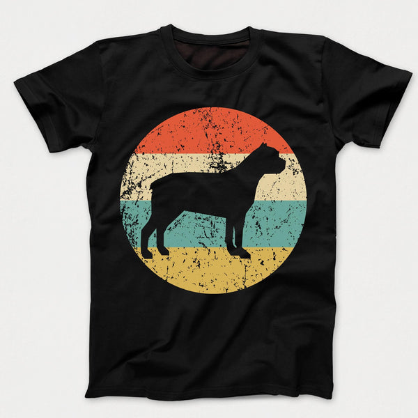 Cane Corso Retro Style Dog Kids T-Shirt
