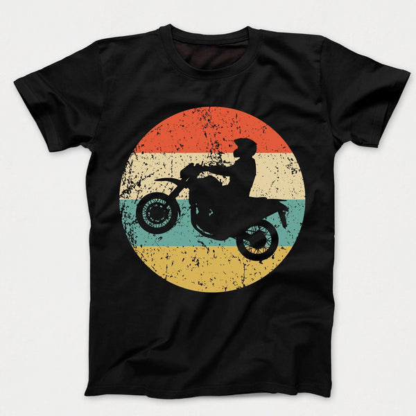 Motocross Retro Style Motor Sports Kids T-Shirt