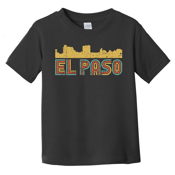 Retro El Paso Texas Skyline Infant / Toddler T-Shirt