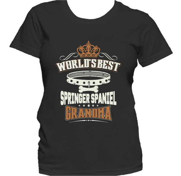World's Best Springer Spaniel Grandma Women's T-Shirt