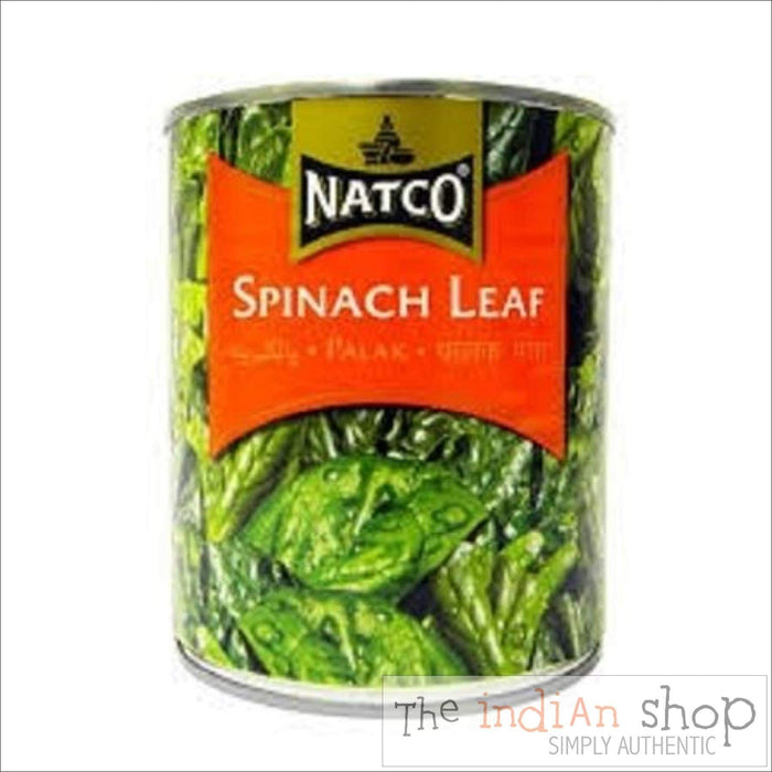 Natco Spinach Leaf - 765 g - Canned Items