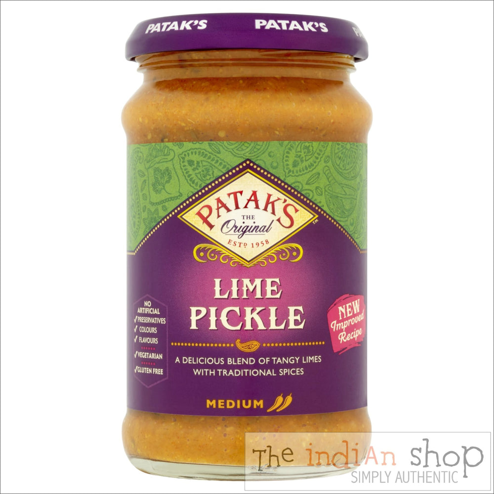 Patak Lime Pickle Medium - Pickle