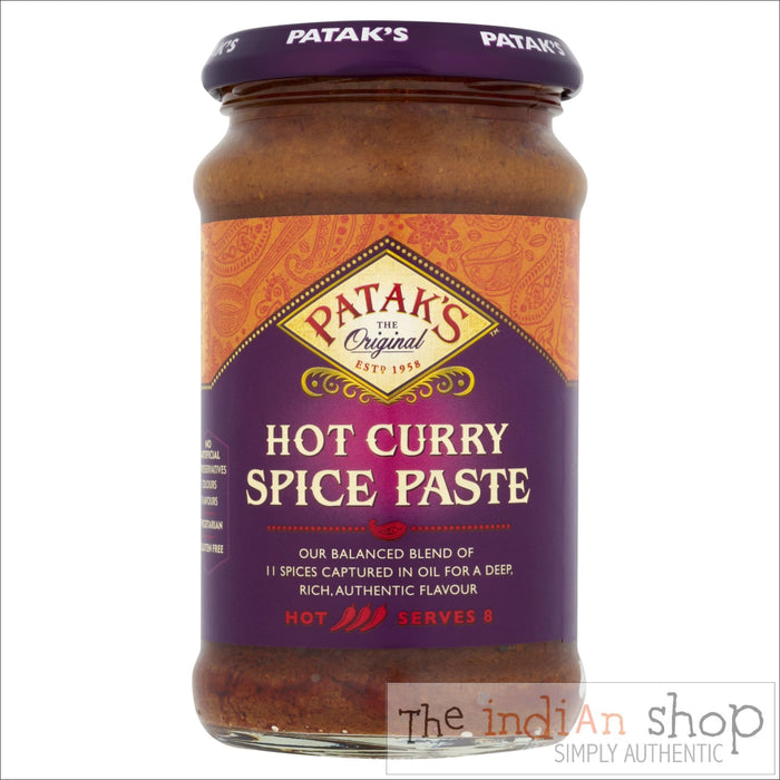 Patak Hot Curry Spice Paste - Pastes