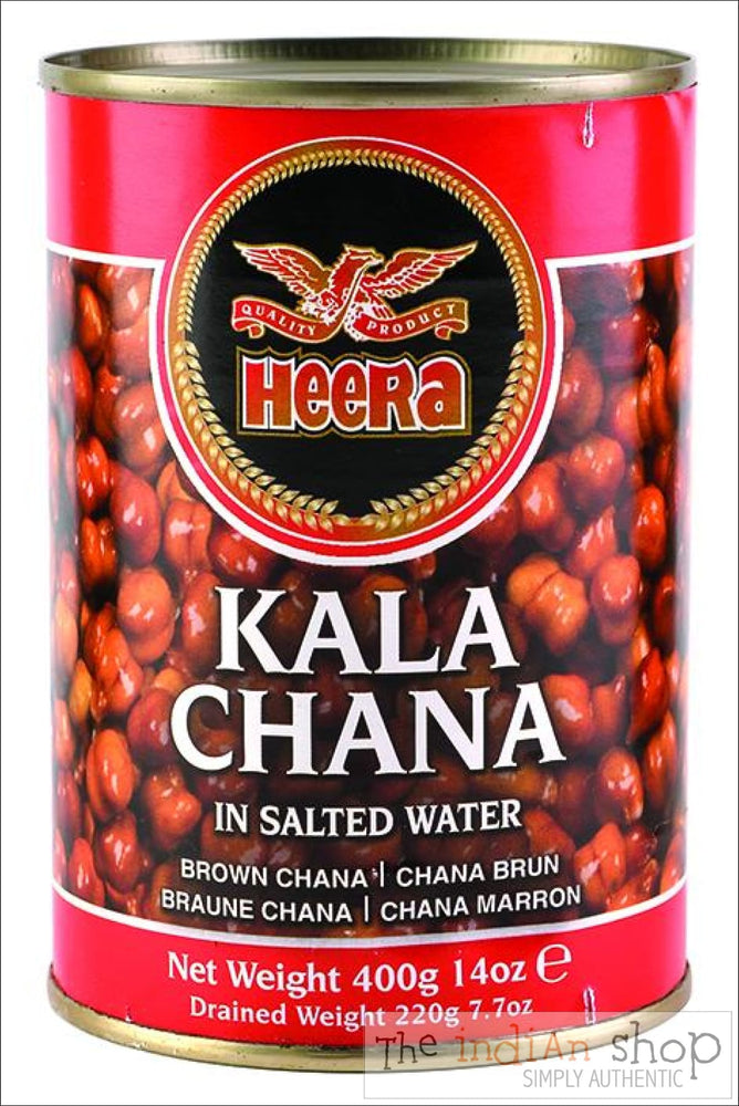 Heera Kala Chana Boiled - Canned Items