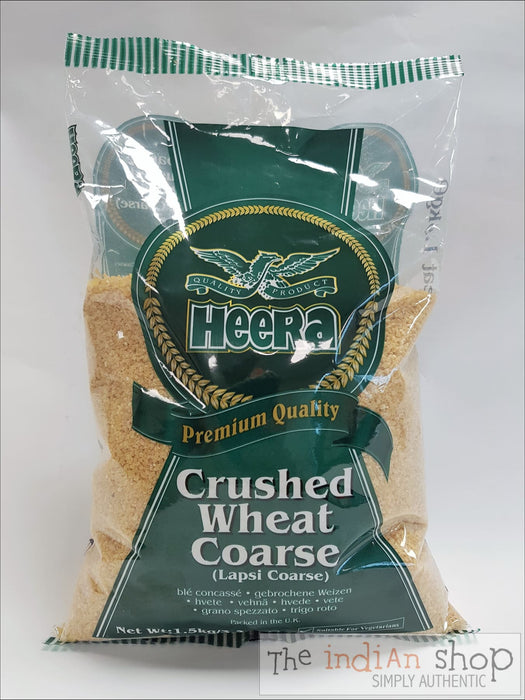 Heera Crushed Wheat Coarse - 1.5 Kg - Other Ground Flours