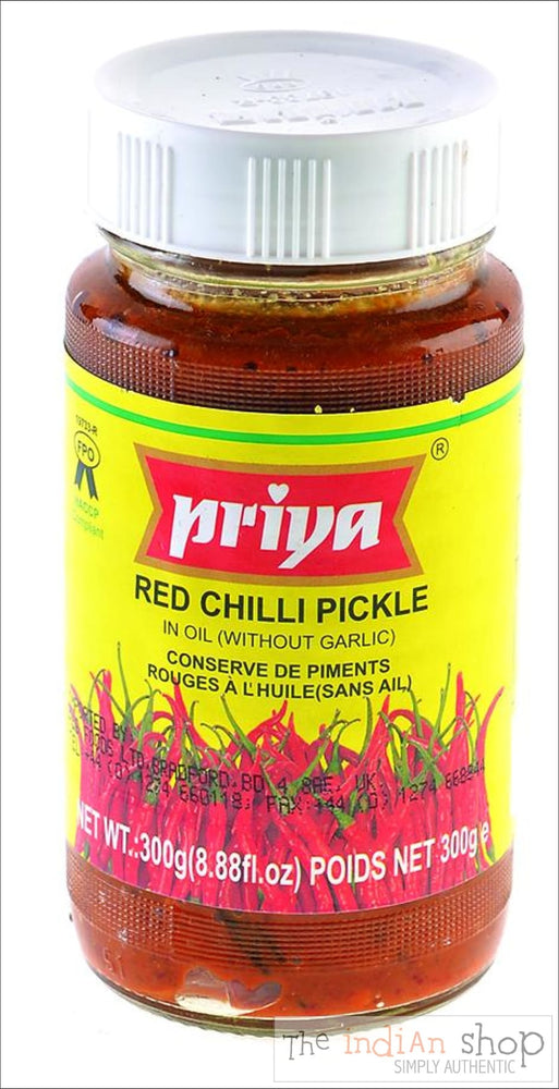 Priya Red Chillies Pickle - Pickle