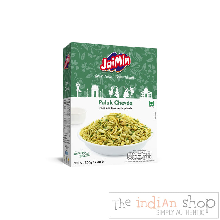 Jaimin Palak Chevda - Snacks