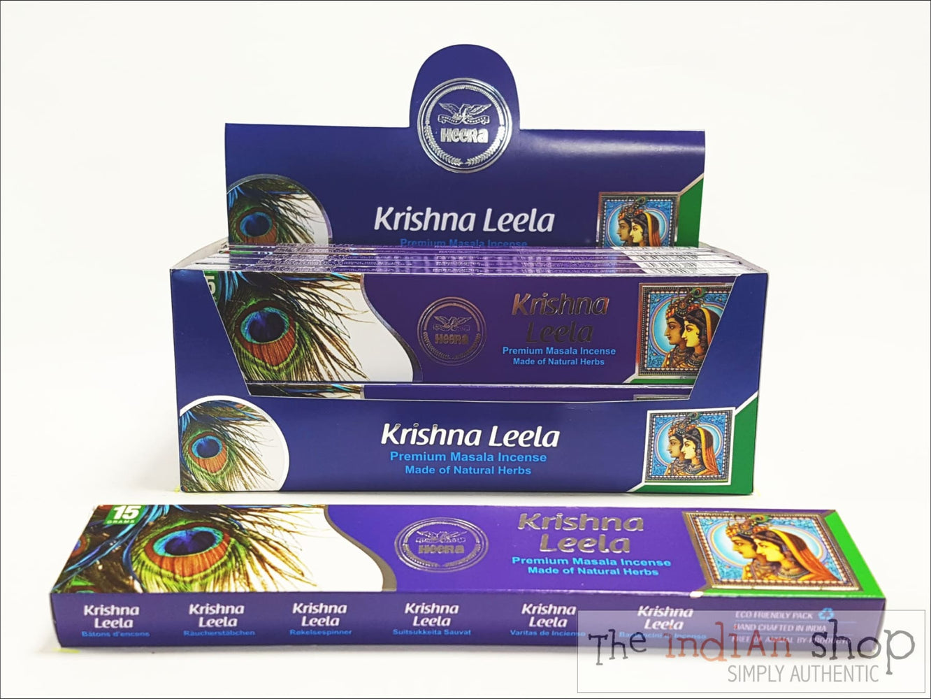 Heera Krishna Leela Incense Sticks - Pooja Items