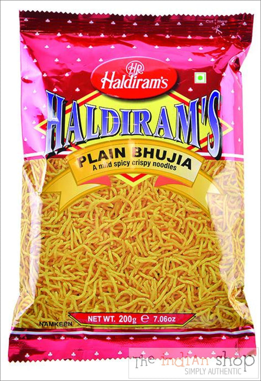 Haldirams Plain Bhujia - Snacks