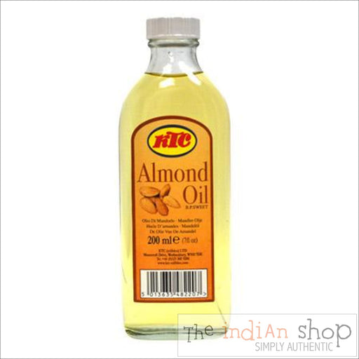 KTC Almond Oil - 200 ml - Beauty and Health