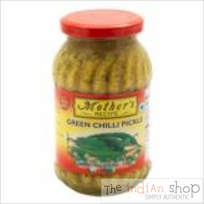 Mothers Recipe Green Chill Pickle - 500 g - Pickle