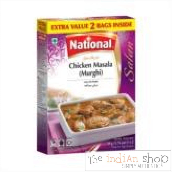 National Chicken (Murgh) Masala - 100 g - Mixes