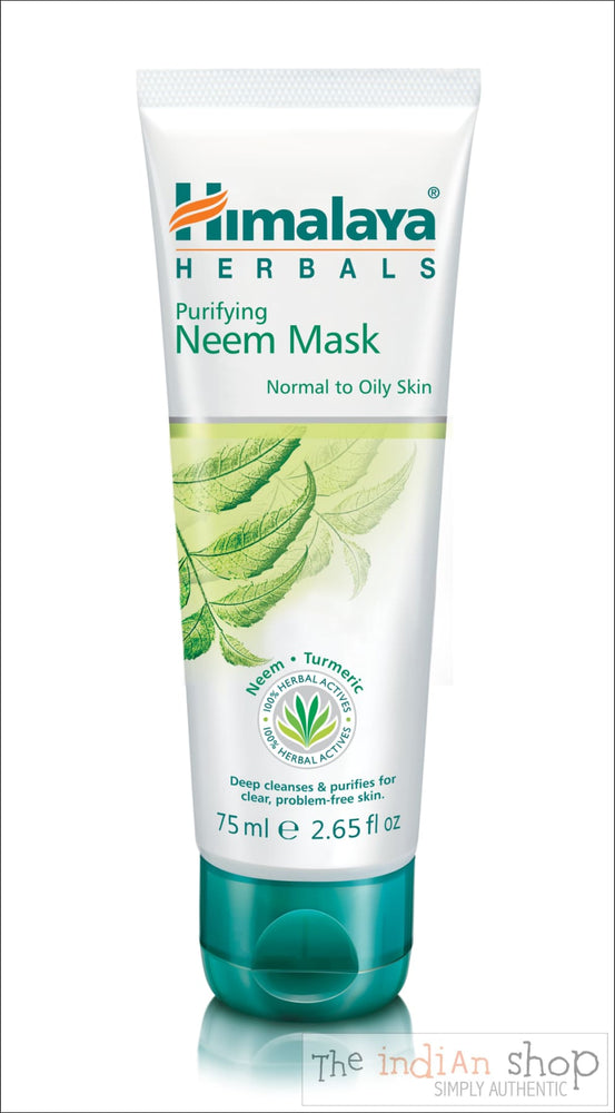 Himalaya Purifying Neem Face Mask - 75 ml - Beauty and Health