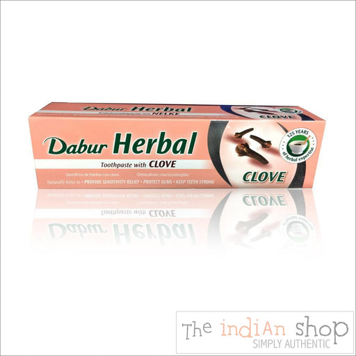 Dabur Clove Toothpaste - Beauty and Health