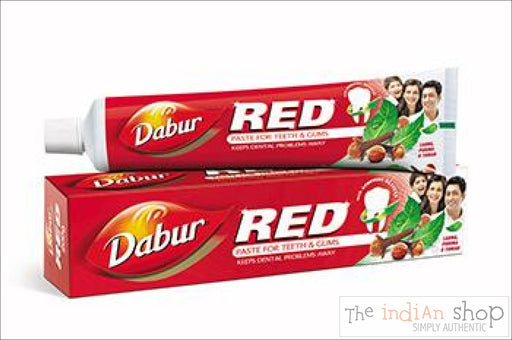Dabur Red Herbal Toothpaste - Beauty and Health