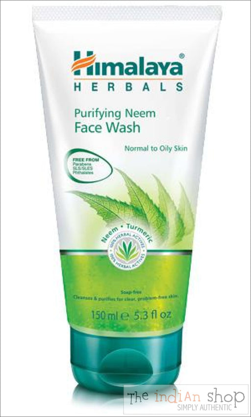 Himalaya Purifying Neem Face Wash (Gel) - Beauty and Health