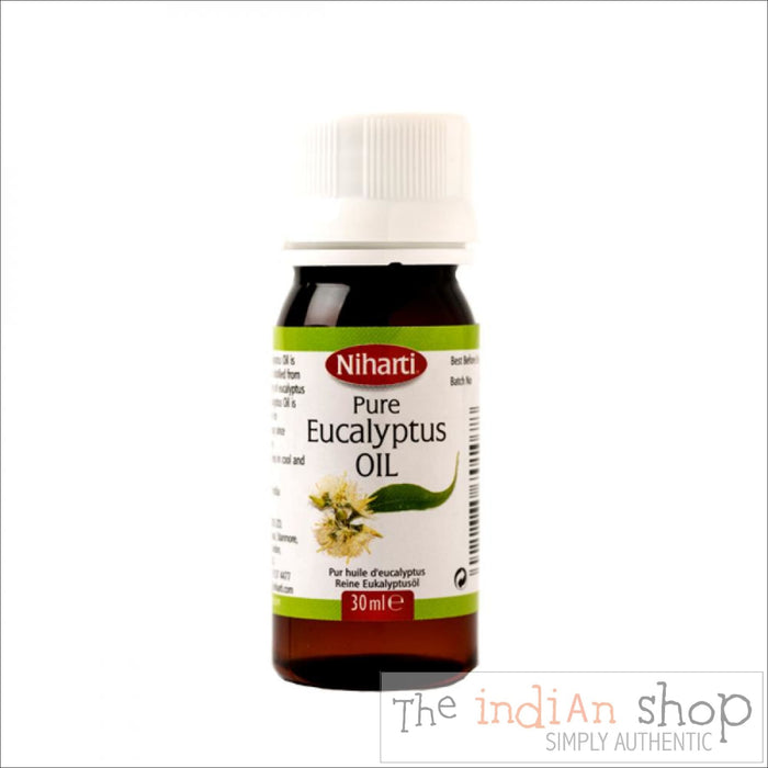 Niharti Eucalyptus Oil - 30 ml - Beauty and Health