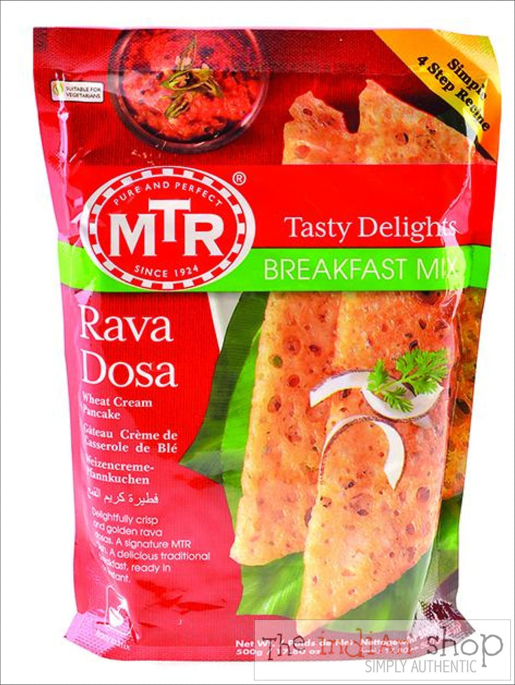 MTR Rava Dosa - Mixes