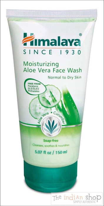 Himalaya Moisturising Aloe Vera Face Wash - Beauty and Health
