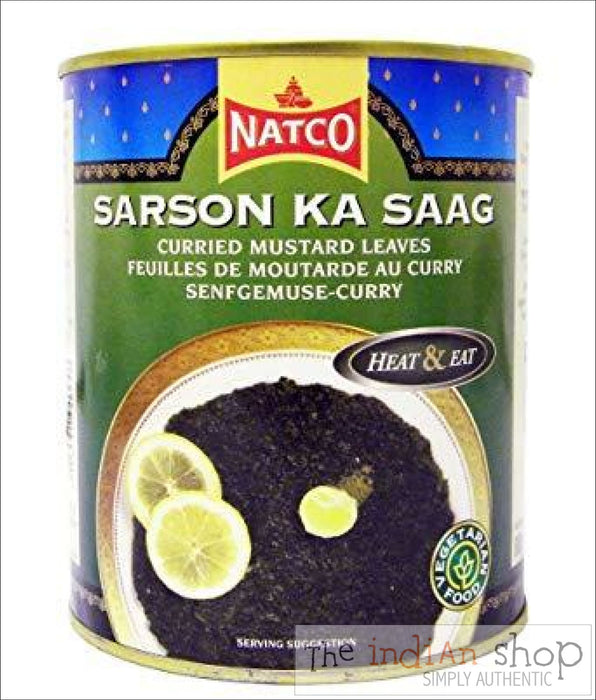 Natco Sarson Ka Saag - 800 g - Canned Items