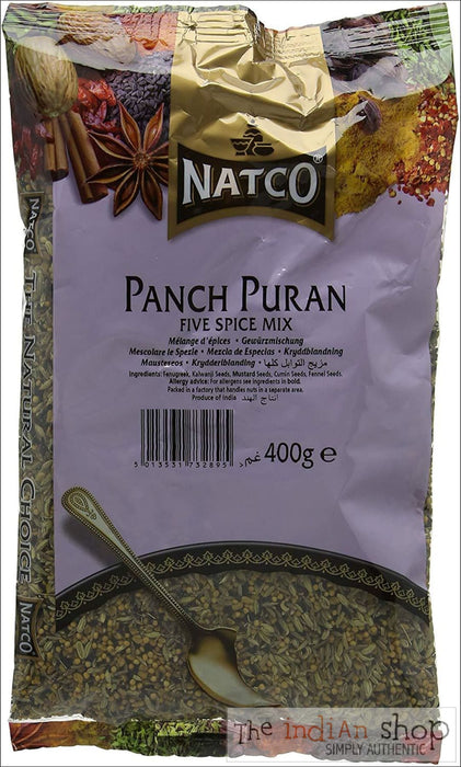 Natco Panchpuran (5 Whole Spice) - 400 g - Spices