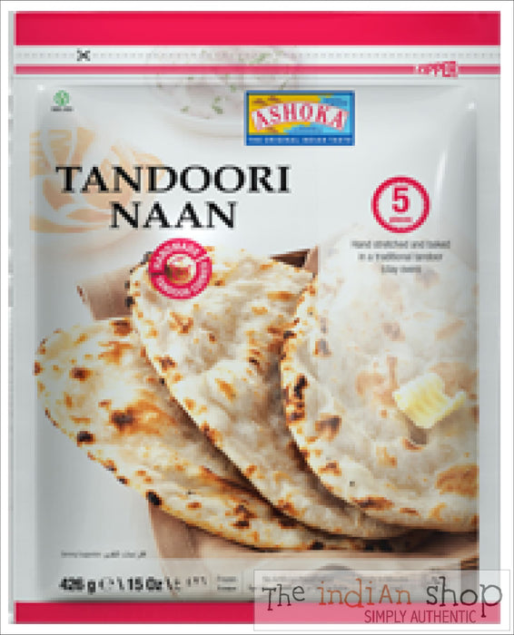Ashoka Tandoori Naan - 426 g - Frozen Indian Breads