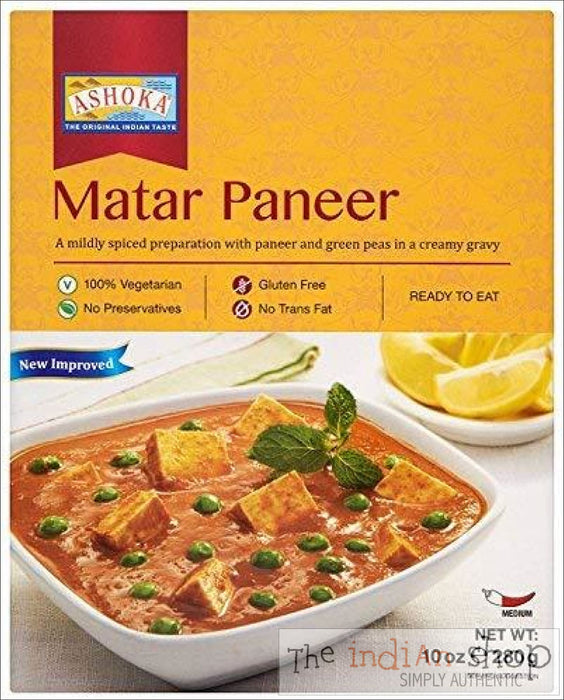 Ashoka Matar Paneer RTE - 280 g - Ready to eat
