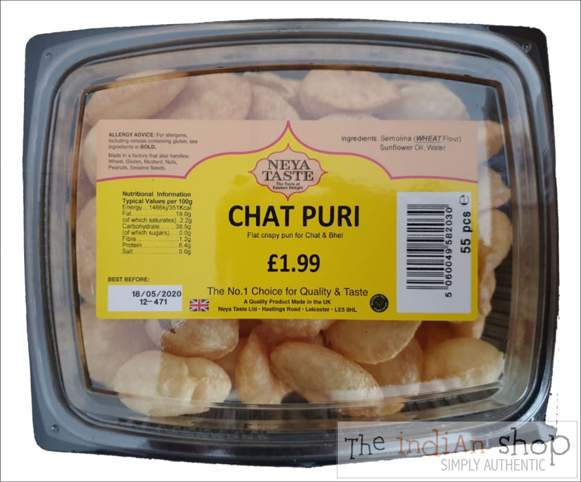 Neya Taste Chat Puri - 290 g (55 ) Snacks