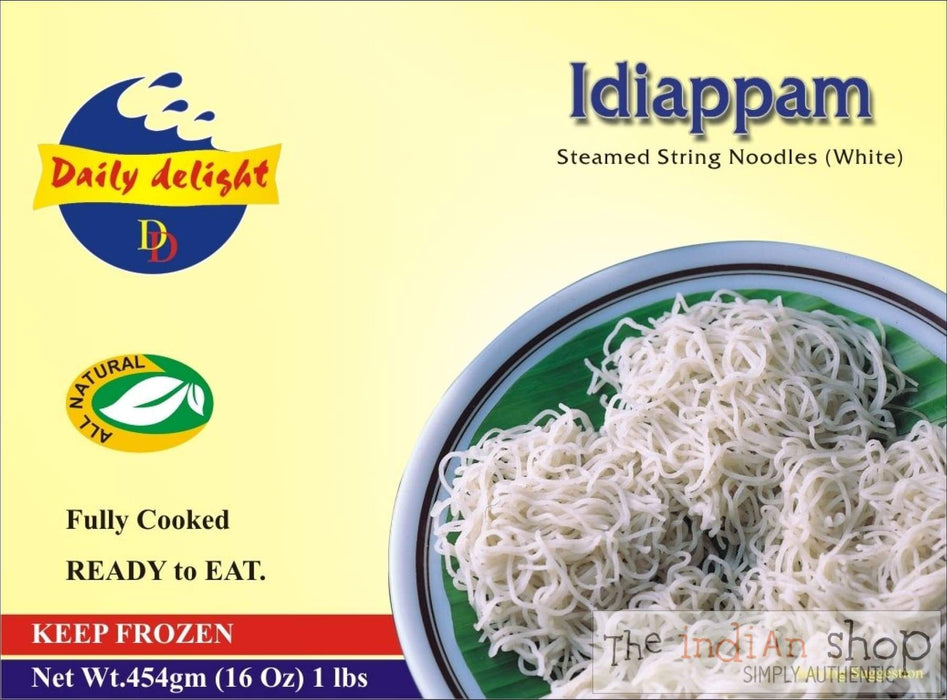 Daily Delight Idiappam White - Frozen Ready to Eat